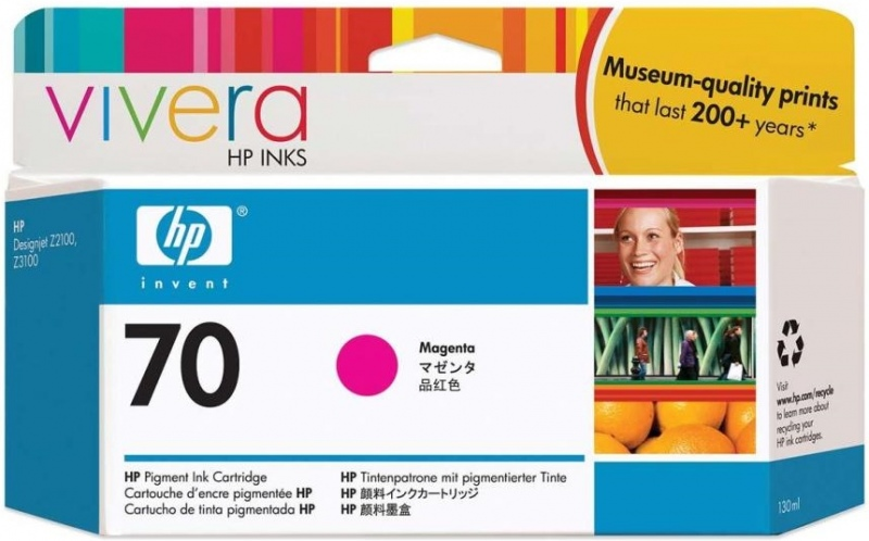 HP Ink No.70 Magenta (C9453A)