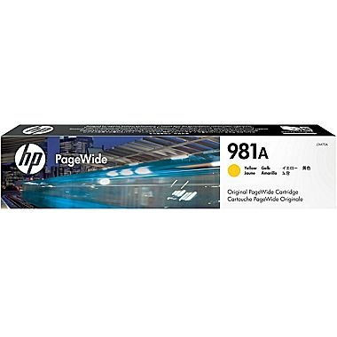 HP Ink No.981A Yellow (J3M70A)
