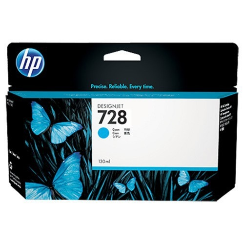 HP Ink No.728 Cyan (F9J67A)