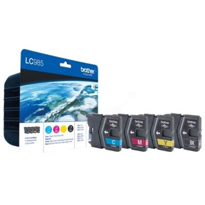 Brother Ink LC 985 Rainbow-Pack (LC985VALBPDR)