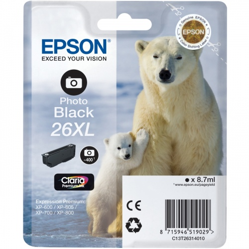 Epson Ink Photo Black (C13T26314012)