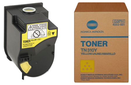 Konica-Minolta Toner TN-310 Yellow (4053503)