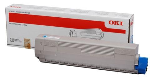 Oki Toner C 831 Cyan (44844507)