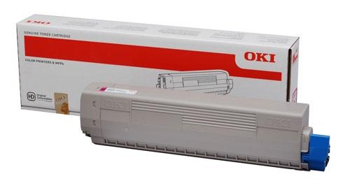 Oki Toner C 831 Magenta (44844506)