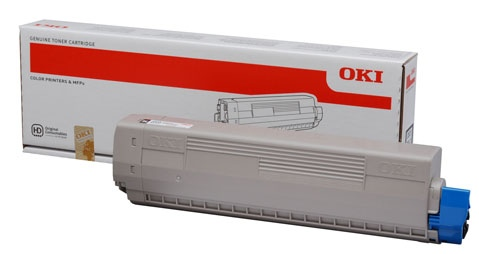 Oki Toner C 831 Yellow (44844505)