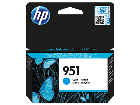 HP Ink No.951 Cyan (CN050AE)
