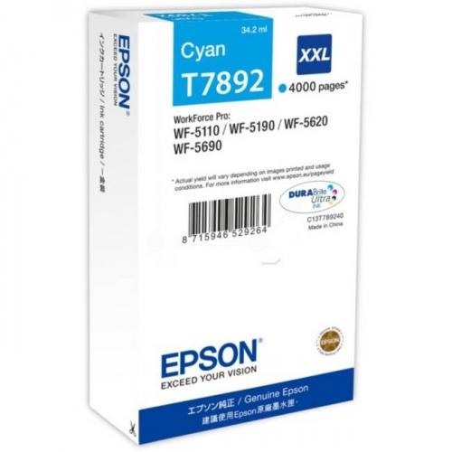 Epson Ink Cyan HC (C13T789240)