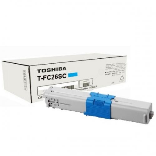 Toshiba Toner T-FC26SC6K Cyan (6B000000557)