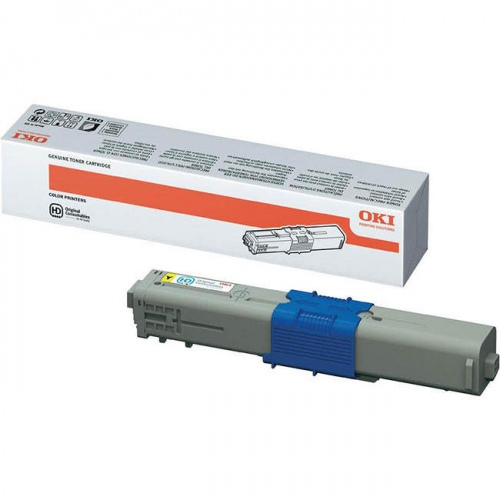 Oki Toner C 500 Yellow (44469722)